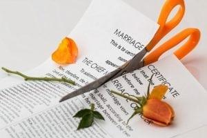 divorce mariage